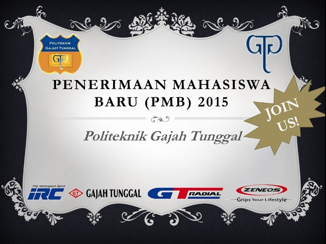 PMB Poltek GT 2015